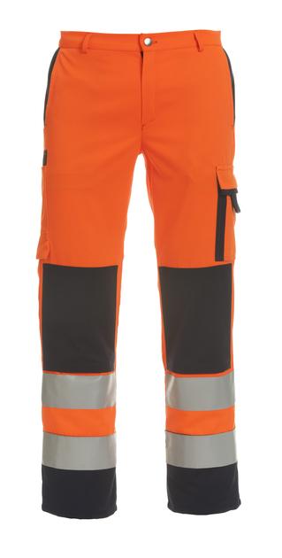 Warnschutz Bundhose mit Knietaschen